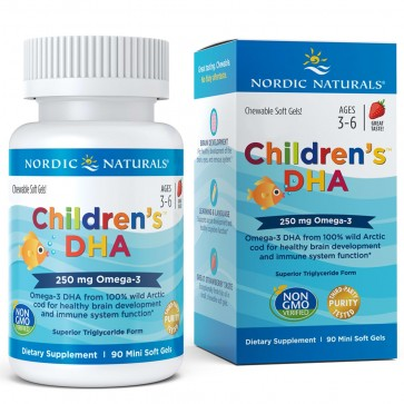 Children DHA 90s Nordic naturals