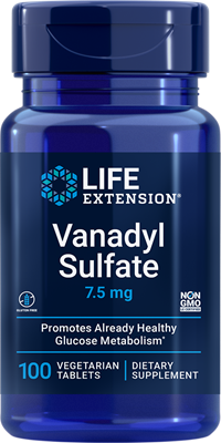 Vanadyl Sulfate 7.5mg Life Extension