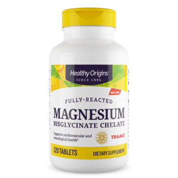 Magnesio Bisglycinate 120 tabs HEALTHY Origins