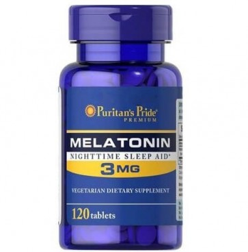 Melatonina 3mg 120s PURITAN