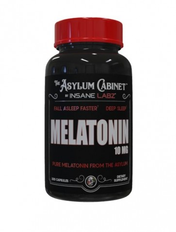 Melatonina 10mg 100caps Insane Labz