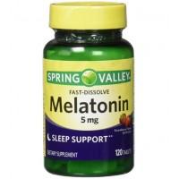 Melatonina 5mg 120 tabs Spring Valley - 9/2021