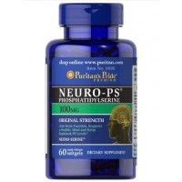 Neuro PS (phosphatidylserine) 100mg 60 softgels Puritans