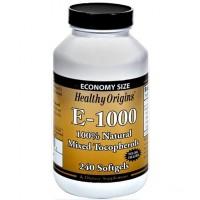 E-1000 IU 240 Softgels HEALTHY Origins