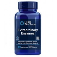 Extraordinary Enzymes 60 caps LIFE Extension