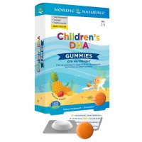 Childrens DHA 30 Gummies 600mg Omega 3 Nordic