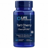 Tart Cherry with CherryPURE 60 veg caps Life Extension