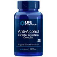 Anti Alcohol HepatoProtection Complex 60 caps LIFE Extension