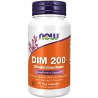 DIM 200 Diindolylmethane 90 Veg Capsules Now foods