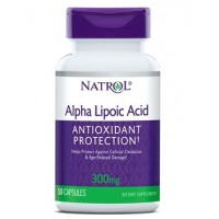 Alpha Lipoic Acid Antioxidant Protection, 300 mg, Capsules, 50ct Natrol