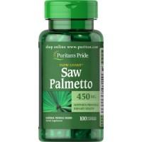 Saw Palmeto 450mg 100s PURITAN