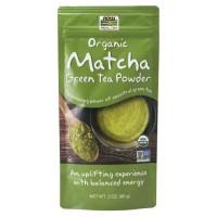 Matcha Green Tea Powder, Organic 3oz Now foods