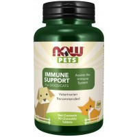 Immune Support Chewable Tablets for Dogs & Cats Now foods Pets