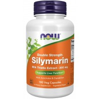 Silymarin, Double Strength 300 mg 100 Veg Capsules Now foods