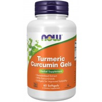 Turmeric Curcumin Gels 60 Softgels Now foods