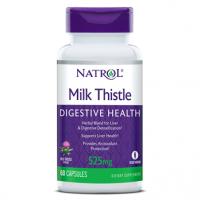 Milk Thistle Digestive Health, 525 mg, Capsules, 60ct Natrol