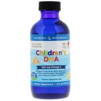 Children DHA Liquido 4oz Nordic naturals