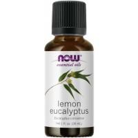 LEMON EUCALYPTUS (CITRIDORA) OIL  1 OZ NOW Foods