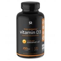 Vitamina D3 10,000 120s Sports Research