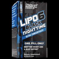 Lipo 6 Black Night Nutrex